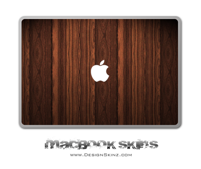 Strong Wood Grain MacBook Skin