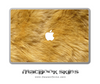 Furry Animal MacBook Skin