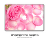 Magical Flowers MacBook Skin