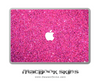Pink Glitter Ultra Metallic MacBook Skin