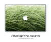 Windy Grass MacBook Skin