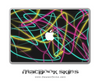 Neon Swirls MacBook Skin