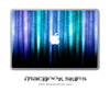 Neon Rain MacBook Skin