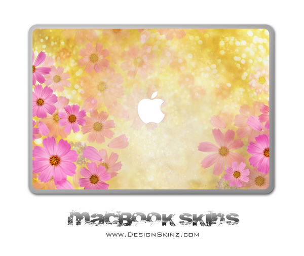FlowerLand MacBook Skin