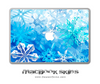 Abstract WinterLand MacBook Skin