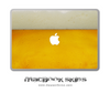 Golden Beer MacBook Skin