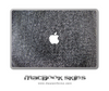 Washed Denim MacBook Skin