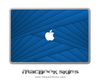 Blue Wings MacBook Skin