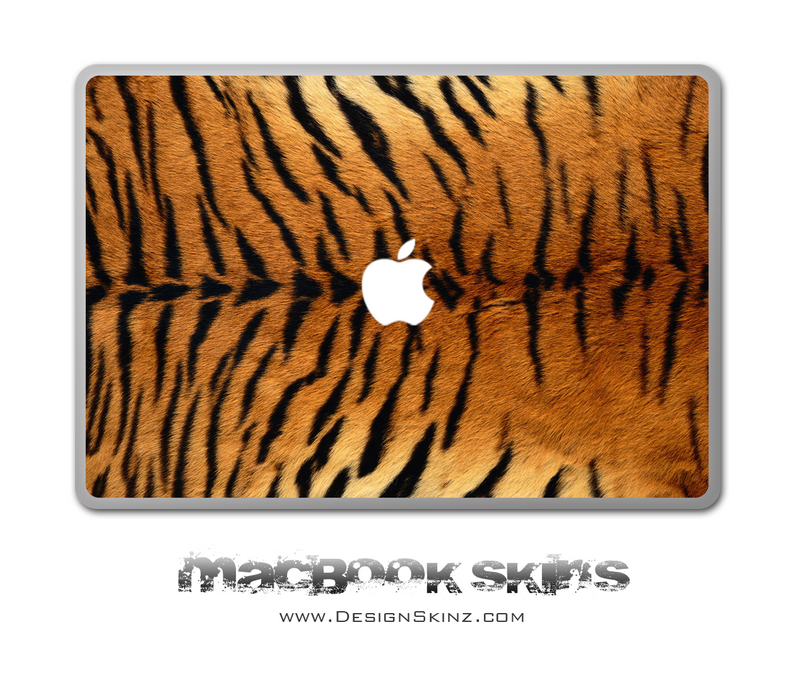 Real Tiger MacBook Skin