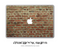 Brick Wall MacBook Skin