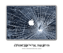 Shattered Glass MacBook Skin