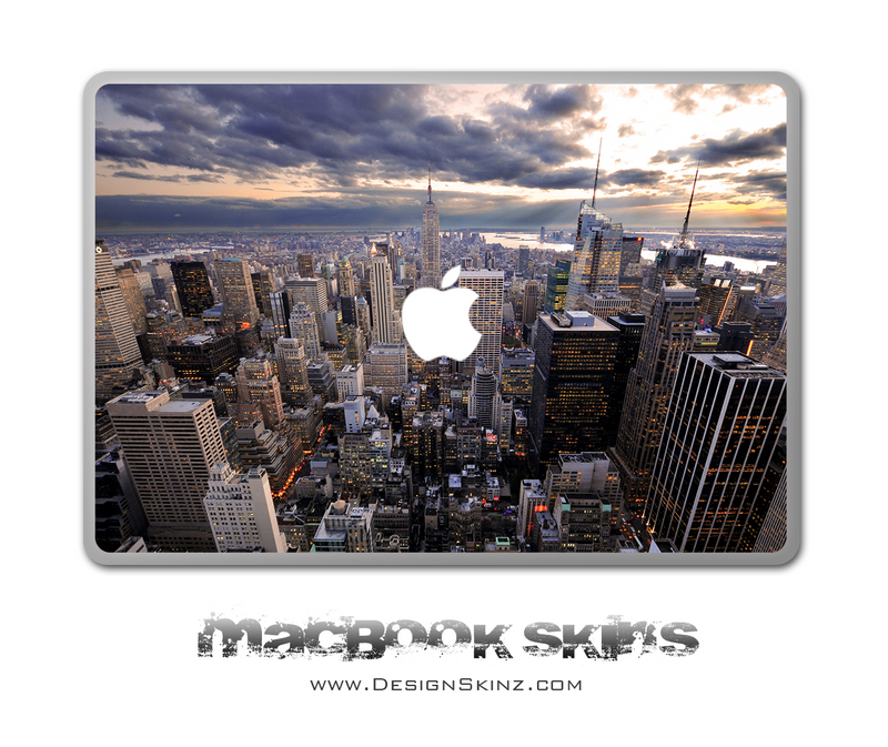 NYC Skyline MacBook Skin