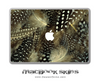 Peacock Feathers 2 MacBook Skin