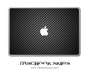 Carbon Fiber MacBook Skin