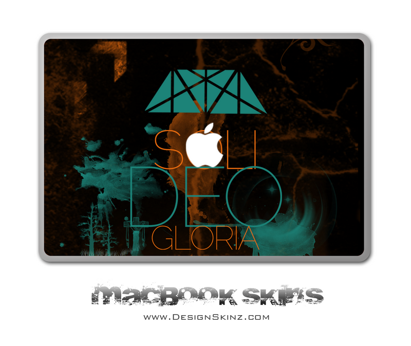 Soli Deo Gloria MacBook Skin by Lauren Pyles