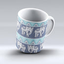 The-Walking-Sacred-Elephant-Pattern-ink-fuzed-Ceramic-Coffee-Mug