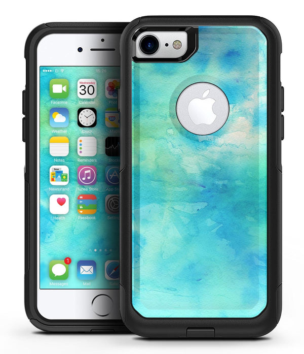 Washed 08242 Absorbed Watercolor Texture - iPhone 7 or 8 OtterBox Case & Skin Kits