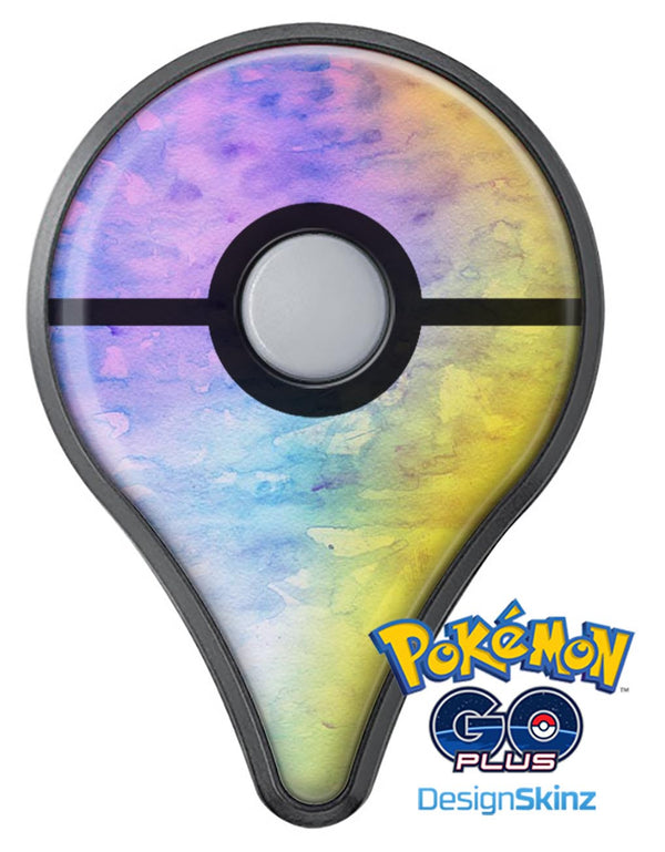 Washed 42083 Absorbed Watercolor Texture Pokémon GO Plus Vinyl Protective Decal Skin Kit
