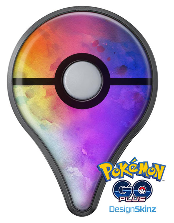 Washed 42321 Absorbed Watercolor Texture Pokémon GO Plus Vinyl Protective Decal Skin Kit