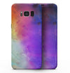Washed 42321 Absorbed Watercolor Texture - Samsung Galaxy S8 Full-Body Skin Kit
