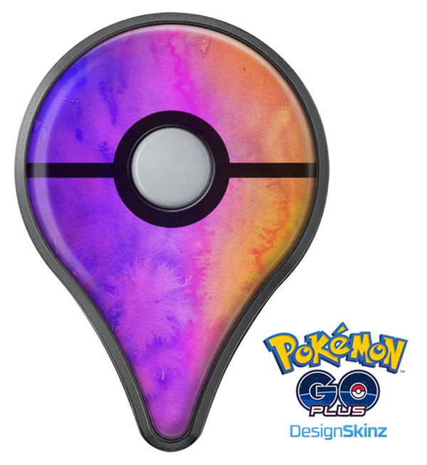Washed 821 Absorbed Watercolor Texture Pokémon GO Plus Vinyl Protective Decal Skin Kit