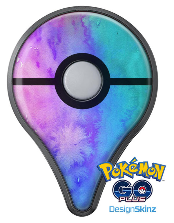 Washed Dyed Absorbed Watercolor Texture Pokémon GO Plus Vinyl Protective Decal Skin Kit