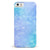 Washed Ocean Blue 42 Absorbed Watercolor Texture iPhone 5/5s or SE INK-Fuzed Case