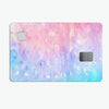 Washed Pink 4 Absorbed Watercolor Texture - Premium Protective Decal Skin-Kit for the Apple Credit Card