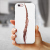 WaterColor DreamFeathers v3 iPhone 6/6s or 6/6s Plus 2-Piece Hybrid INK-Fuzed Case