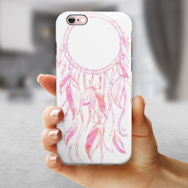 WaterColor Dreamcatchers v14 iPhone 6/6s or 6/6s Plus 2-Piece Hybrid INK-Fuzed Case