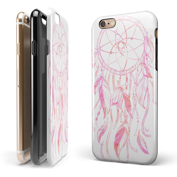 WaterColor Dreamcatchers v16 iPhone 6/6s or 6/6s Plus 2-Piece Hybrid INK-Fuzed Case