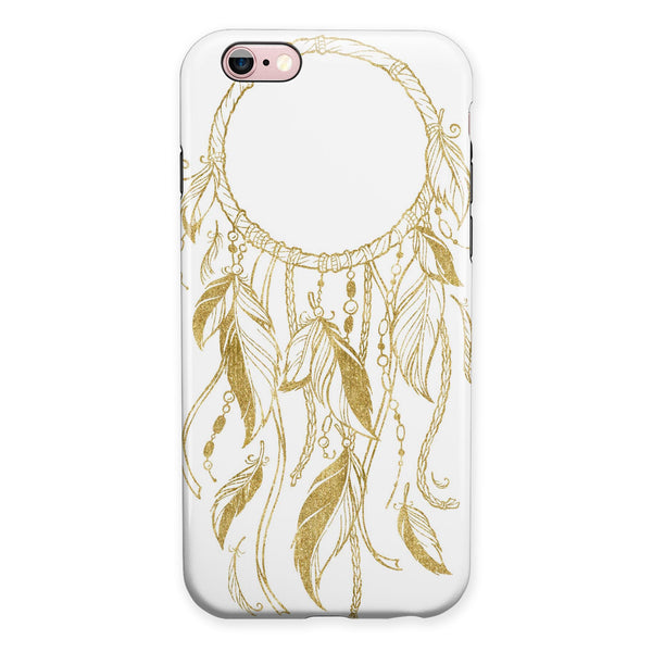 WaterColor Dreamcatchers v17 iPhone 6/6s or 6/6s Plus 2-Piece Hybrid INK-Fuzed Case