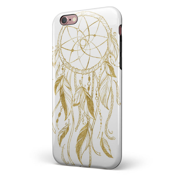 WaterColor Dreamcatchers v18 iPhone 6/6s or 6/6s Plus 2-Piece Hybrid INK-Fuzed Case