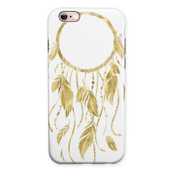 WaterColor Dreamcatchers v19 iPhone 6/6s or 6/6s Plus 2-Piece Hybrid INK-Fuzed Case