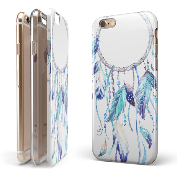 WaterColor Dreamcatchers v1 iPhone 6/6s or 6/6s Plus 2-Piece Hybrid INK-Fuzed Case
