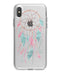 WaterColor Dreamcatchers v2 - Crystal Clear Hard Case for the iPhone XS MAX, XS & More (ALL AVAILABLE)