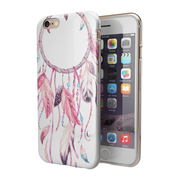 WaterColor Dreamcatchers v4 iPhone 6/6s or 6/6s Plus 2-Piece Hybrid INK-Fuzed Case