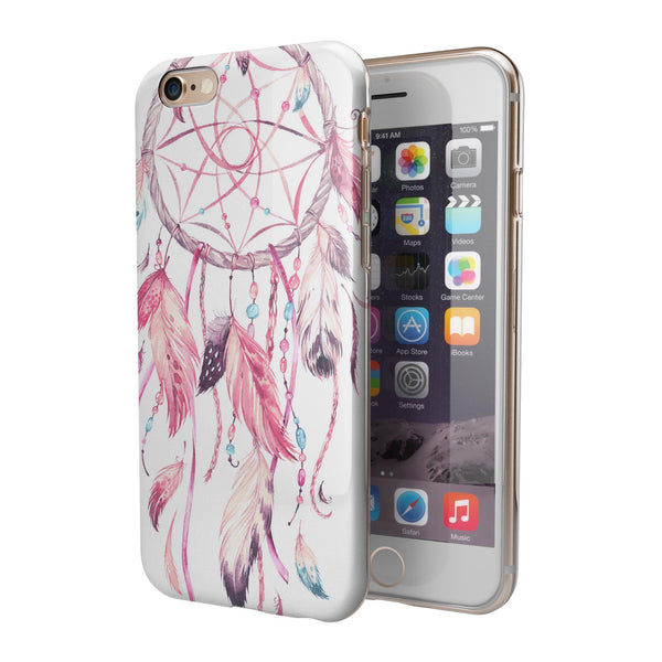 WaterColor Dreamcatchers v5 iPhone 6/6s or 6/6s Plus 2-Piece Hybrid INK-Fuzed Case