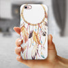 WaterColor Dreamcatchers v7 iPhone 6/6s or 6/6s Plus 2-Piece Hybrid INK-Fuzed Case