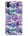 Watercolor Cactus Succulent Bloom V16 - iPhone X Clipit Case