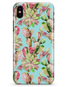 Watercolor Cactus Succulent Bloom V4 - iPhone X Clipit Case