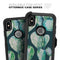 Watercolor Cactus Succulent Bloom V7 - Skin Kit for the iPhone OtterBox Cases