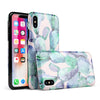 Watercolor Cactus Succulent Bloom V8 - iPhone X Swappable Hybrid Case