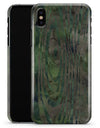 Watercolor Camo Woodgrain - iPhone X Clipit Case