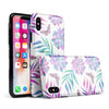 Watercolor Succulent Bloom V17 - iPhone X Swappable Hybrid Case