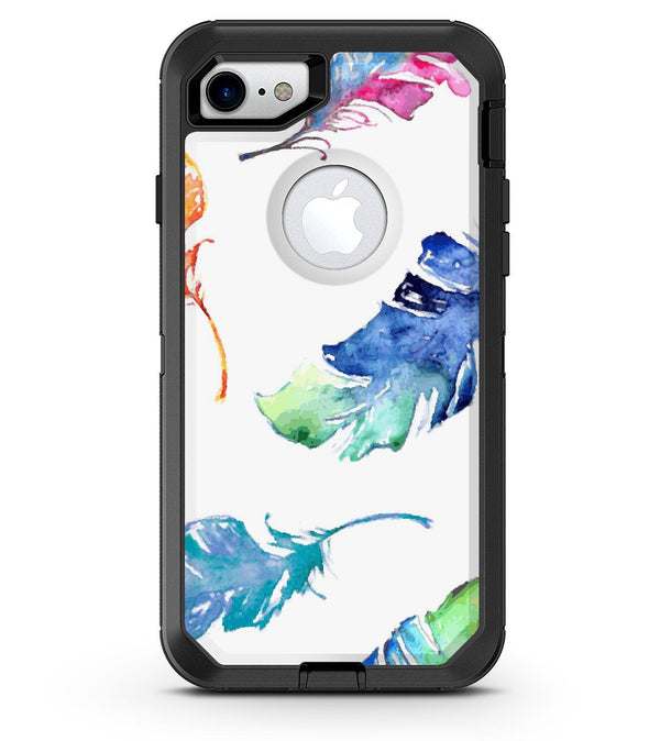 Watercolour Feather Floats - iPhone 7 or 8 OtterBox Case & Skin Kits