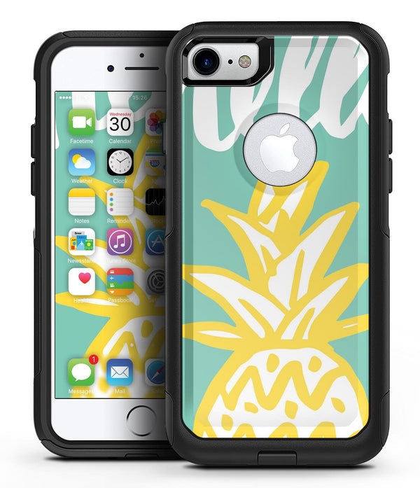 Well Hello Pineapple 2 - iPhone 7 or 8 OtterBox Case & Skin Kits