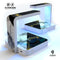 White-Black Marble & Digital Gold Foil V1 UV Germicidal Sanitizing Sterilizing Wireless Smart Phone Screen Cleaner + Charging Station