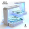 White & Grey Marble Surface V3 UV Germicidal Sanitizing Sterilizing Wireless Smart Phone Screen Cleaner + Charging Station
