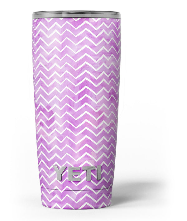 White_Chevron_Over_Purple_Grunge_Surface_-_Yeti_Rambler_Skin_Kit_-_20oz_-_V3.jpg